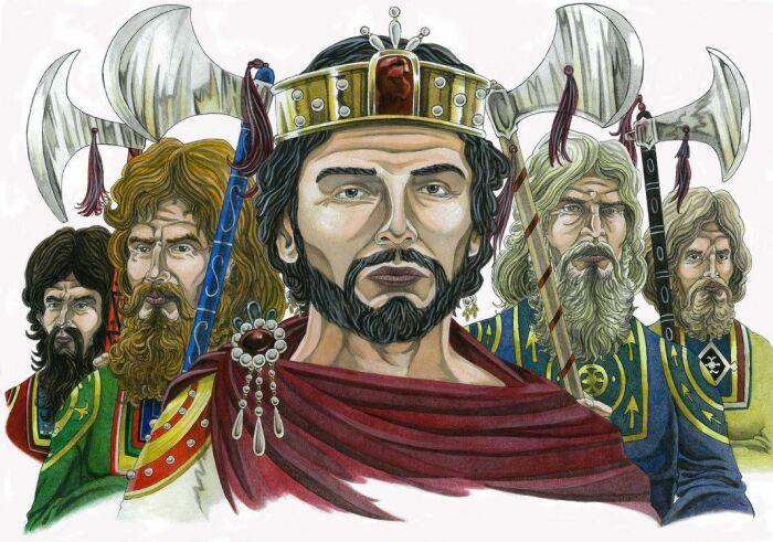 Василий II. \ Фото: pinterest.dk.