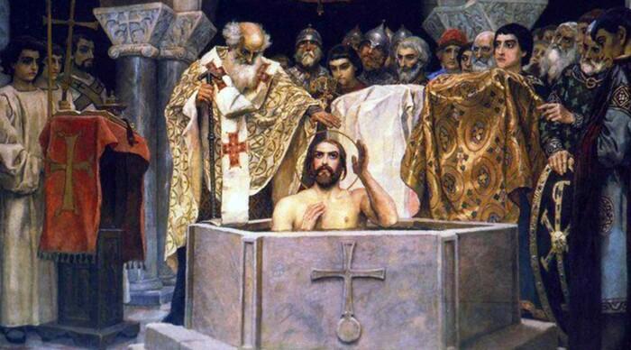 Крещение великого князя Владимира. \ Фото: sc51orel.ru.