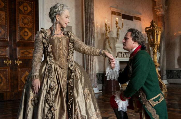 Хелен Миррен играет главную роль в сериале HBO Екатерина Великая. \ Фото: dornsife.usc.edu.