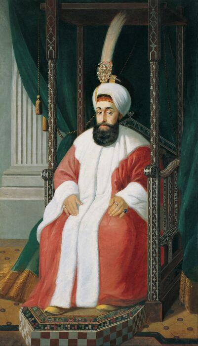 Султан Селим III, Жозеф Варния-Зарзецкий, 1850 год. \ Фото: ar.lifeisgoodontbesad.xyz.