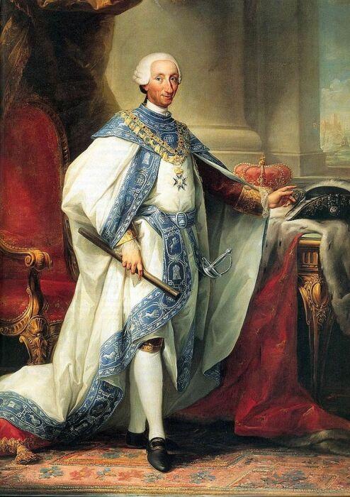 Король Испании Карл III. \ Фото: mobile.twitter.com.