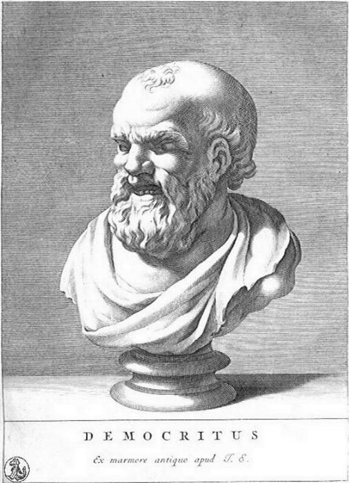 Философ Демокрит. \ Фото: haaretz.com.
