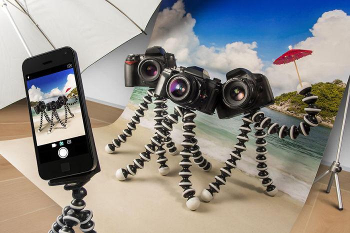 Камеры в отпуске (Cameras on Vacation). Автор фото: Eran Croitoru.