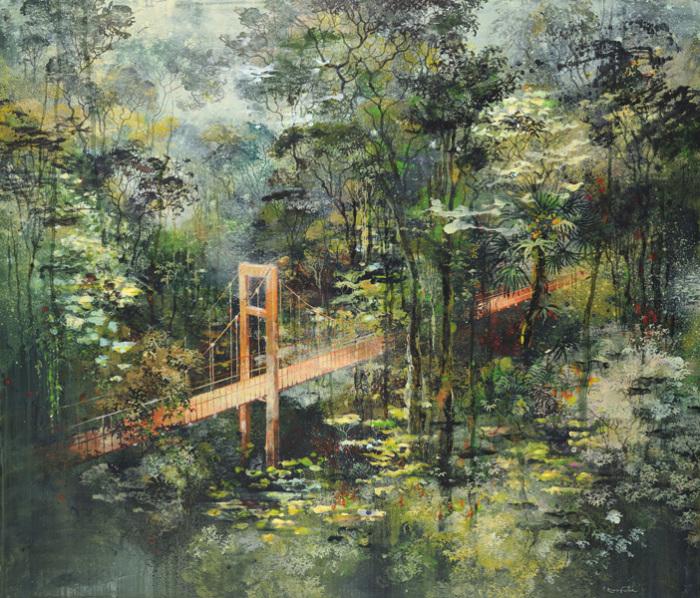 Мост в другое измерение. Автор: Eric Roux-Fountaine.