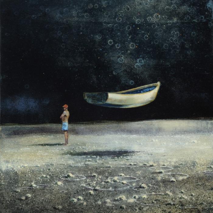 Лодка. Автор: Eric Roux-Fountaine.