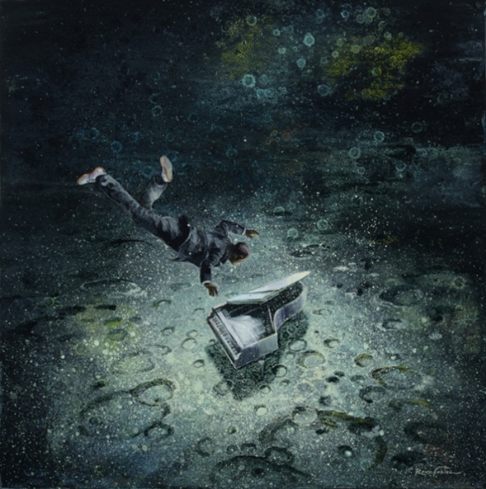 Старый рояль. Автор: Eric Roux-Fountaine.