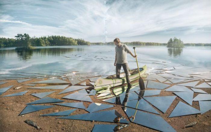 Влияние. Автор: Erik Johansson.