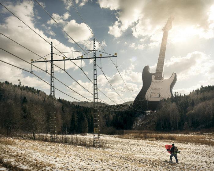 Электрогитара. Автор: Erik Johansson.