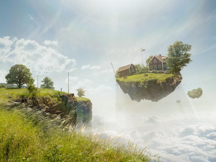 Свободные выключатели. Автор: Erik Johansson.