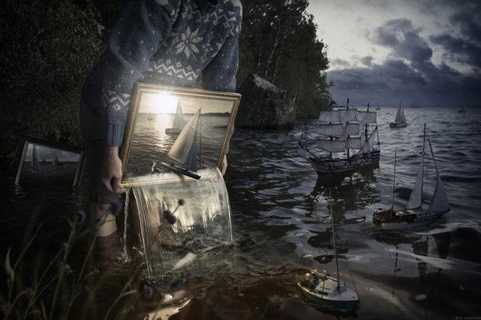 Отпусти их на свободу. Автор: Erik Johansson.