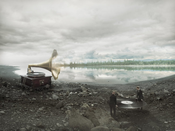 Саундскейпы. Автор: Erik Johansson.