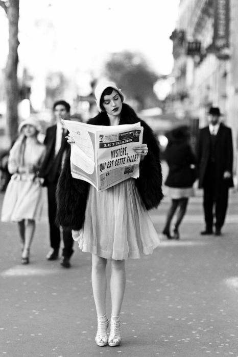 Элегантная француженка. Автор: Esther Haase.