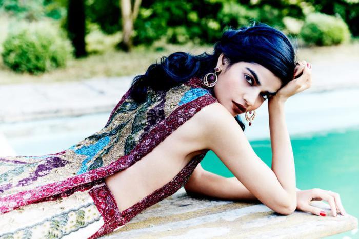 Для журнала Vogue Индия. Автор: Esther Haase.