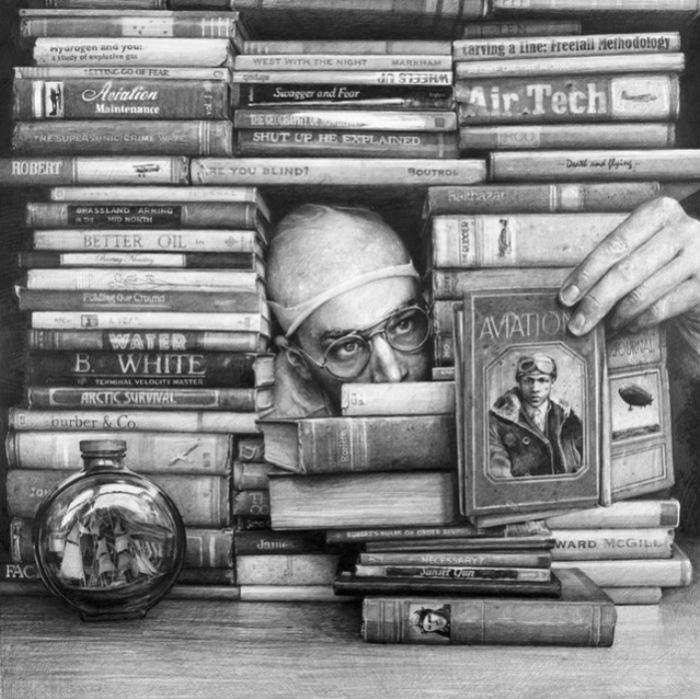 Книжный хранитель. Автор: Ethan Murrow.