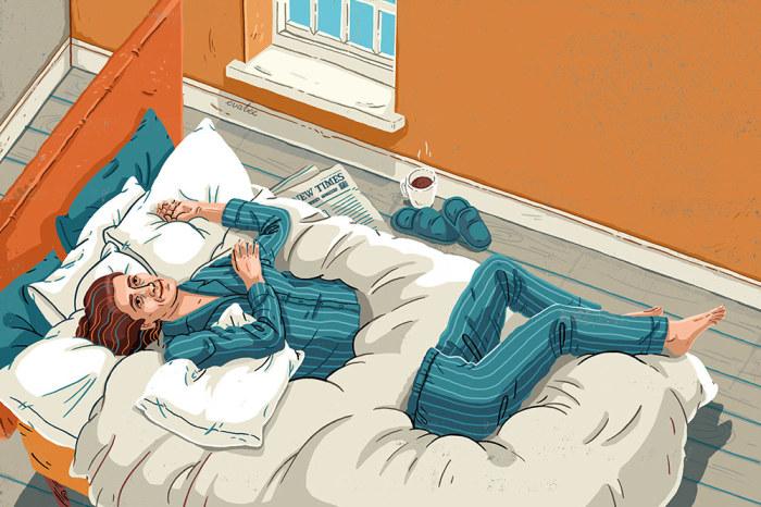 Утро современного человека. Автор: Eva Bee.