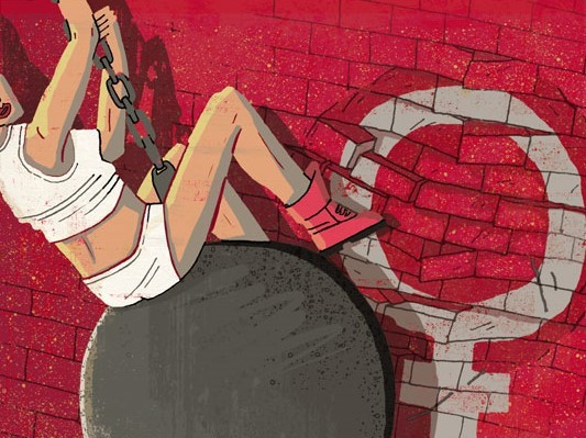 Детокс, феминизм и беженцы: Иронично-саркастические иллюстрации о жизни в XXI веке