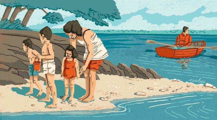 Необитаемый остров. - средство избавления от проблем. Автор: Eva Bee.
