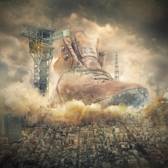 Приключение ботинка. Автор: Even Liu.