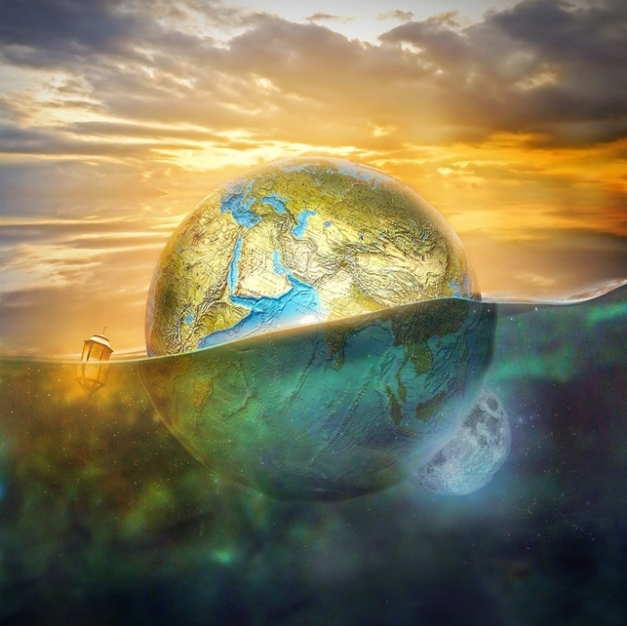 Планета. Автор: Even Liu.