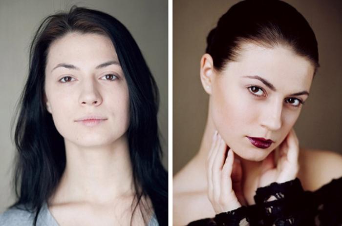 Чудеса макияжа от визажиста Евгении Смирновой (Evgenia Smirnova).