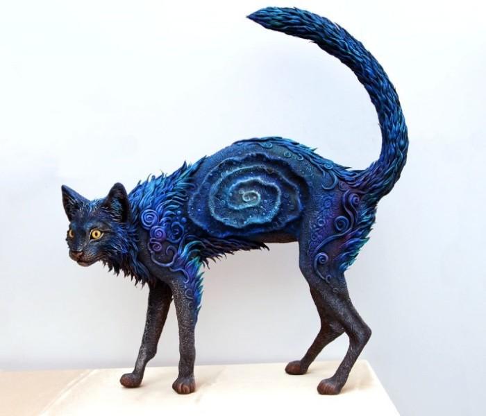 Кошка. Автор: Евгений Хонтор.