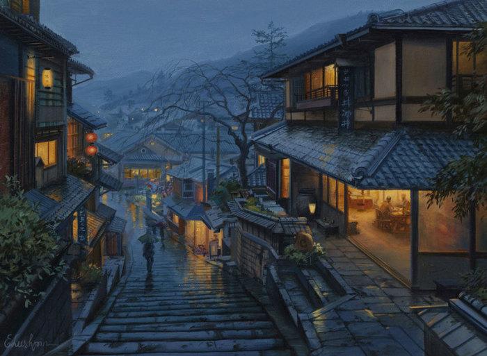 Старый Киото. Автор: Евгений Лушпин.