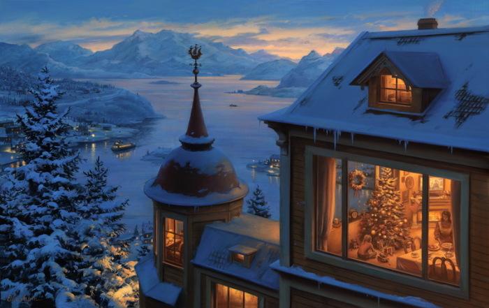 Возвращайся домой на Рождество. Автор: Евгений Лушпин.