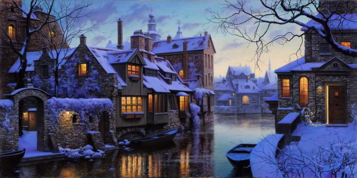 Зимняя Венеция. Автор: Евгений Лушпин.