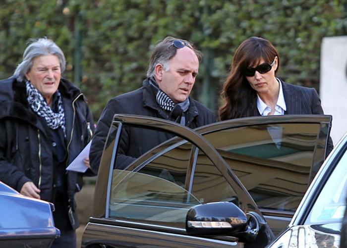 Моника Беллуччи и ее отец. \ Фото: monicabellucci.net.