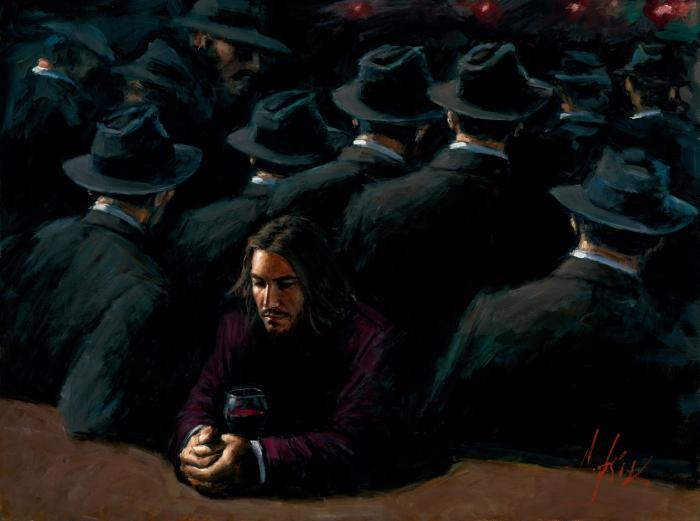 Неоднозначные работы аргентинского художника Фабиана Перез (Fabian Perez).