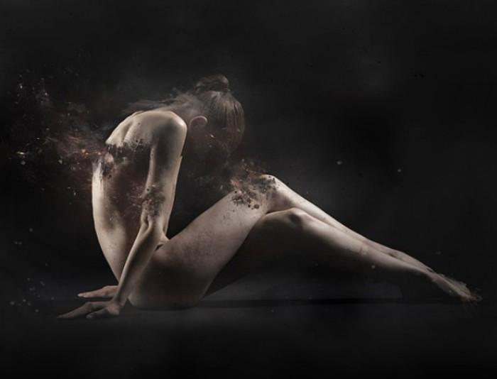 Разрушающиеся женские образы в работах Фабио Сельватичи (Fabio Selvatici).