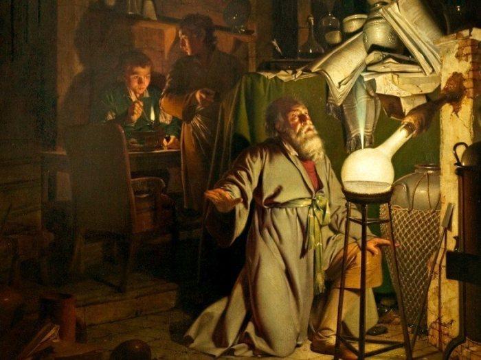 Таинственный алхимик. \ Фото: atlasobscura.com.
