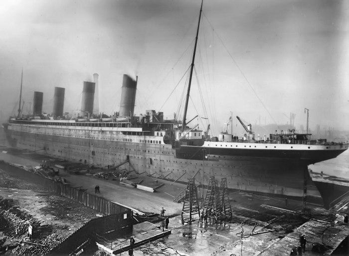 Легендарный Титаник. \ Фото: ru.wikipedia.org.