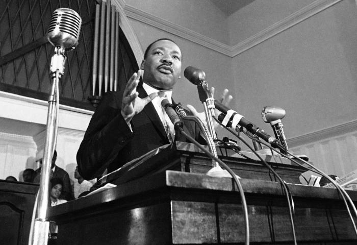 Мартин Лютер Кинг. \ Фото: news.myseldon.com.