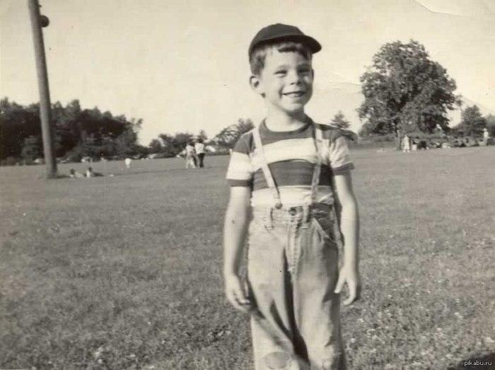 Стивен Кинг в детстве. \ Фото: google.ru.