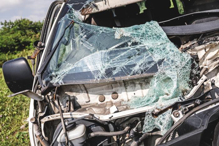 Злополучное авто было уничтожено. \ Фото: shutterstock.com.