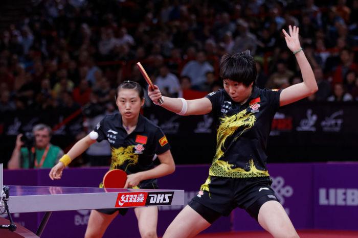 Настольный теннис - национальная игра Китая. \ Фото: ka.wikipedia.org.