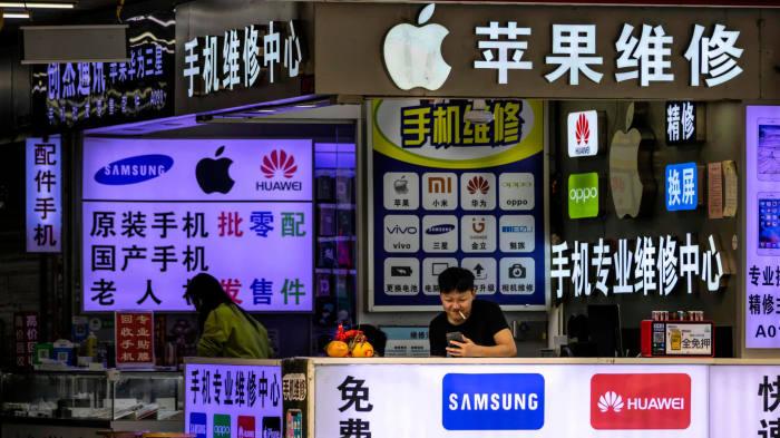 Экономика Китая  находится на втором месте после США. \ Фото: ft.com.