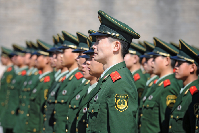 Китай имеет самую большую в мире постоянную армию. \ Фото: tvn24.pl.