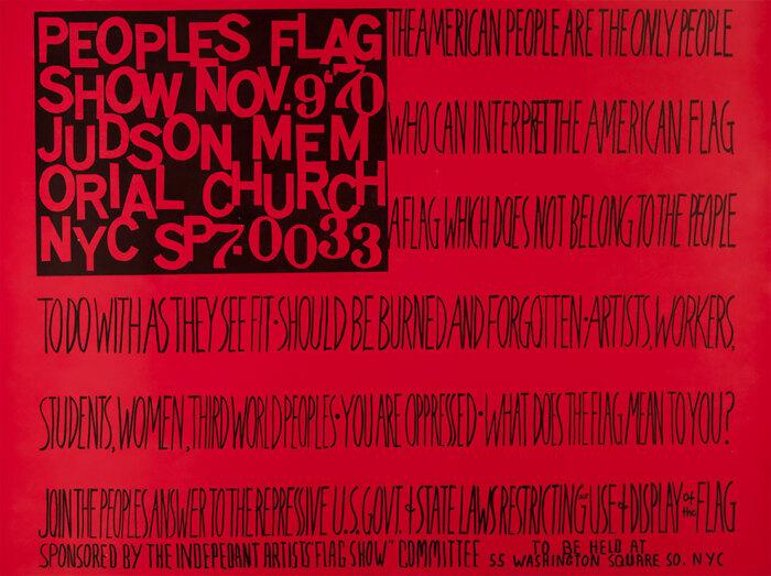Флаги людей, Фейт Рингголд. \ Фото: google.com.