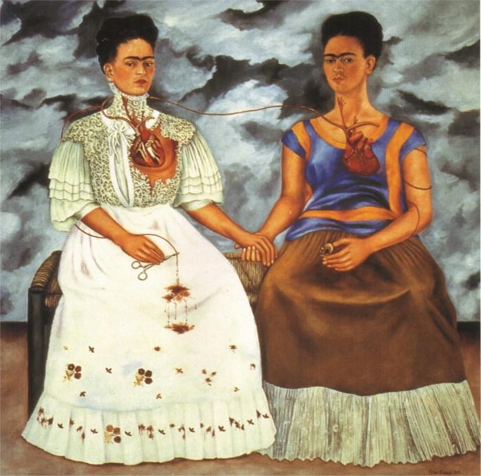Две Фриды, Фрида Кало, 1939 год.