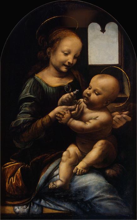 Мадонна Бенуа, Леонардо да Винчи.