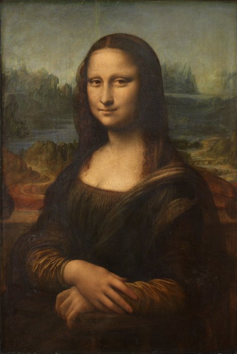 Легендарная Джоконда, Леонардо да Винчи.