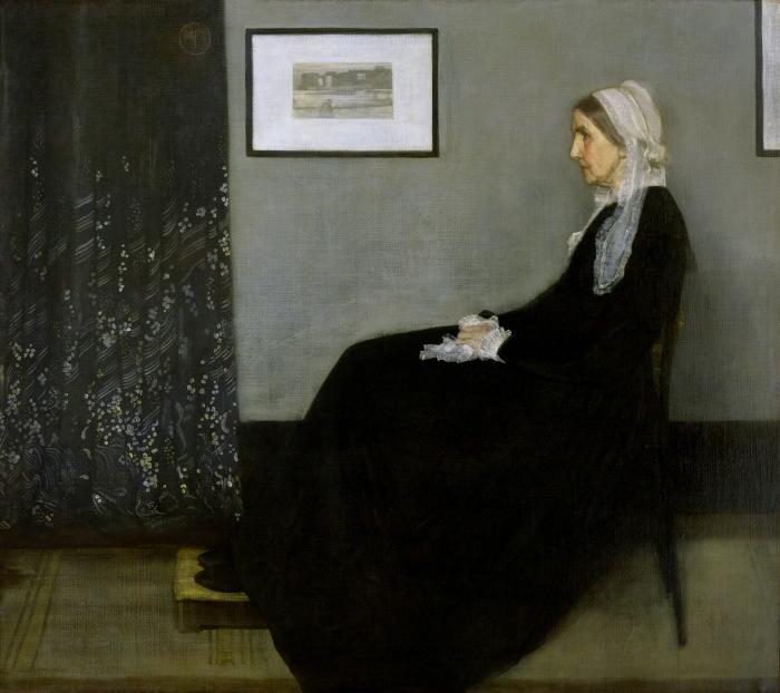 Мать Уистлера (1871 год) - Джеймс Макнил Уистлер.