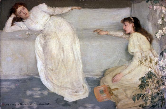 Симфония в белом № 3, Джеймс Уистлер, 1865—1867 гг.