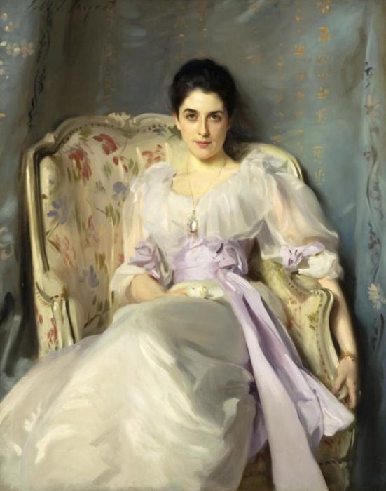 Леди Агнью из Лохнау (1864 - 1932 гг.), Джон Сингер Сарджент, 1892 год.