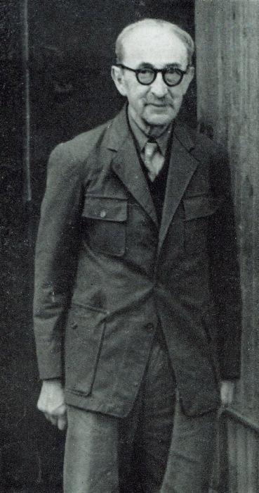 Рене Серкетан в возрасте восьмидесяти лет. Репродукция из журнала Aesculape. \ Фото: theartnewspaper.com.
