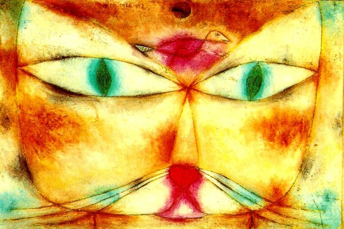 Кот и птица. \ Фото: blog.seniorennet.be.
