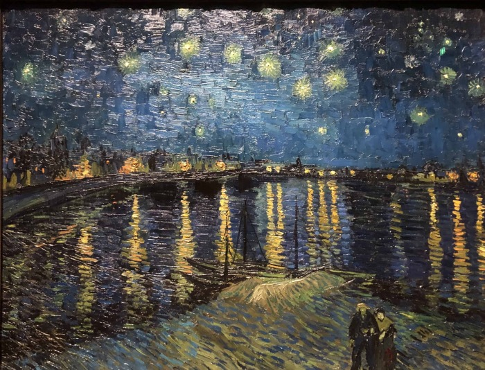 Звёздная ночь над Роной. \ Фото: artwalk.london.