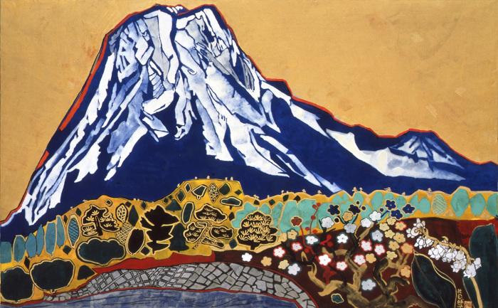 Тамако Катаока, Благоприятная гора Фудзи, 1991 год, Токийский арт-клуб.